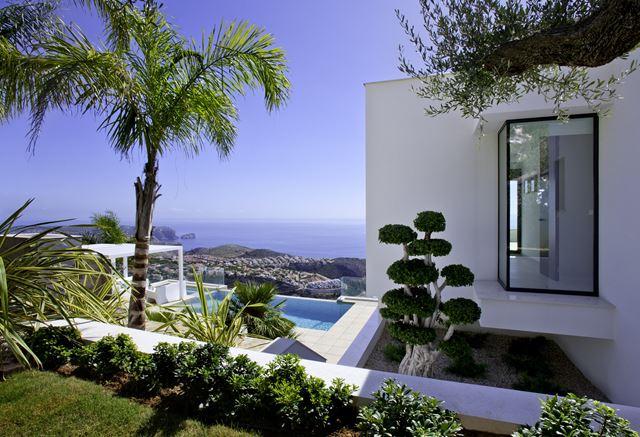 Luxus villa mit rmeerblick Cumbre del Sol Costa blanca immobilien