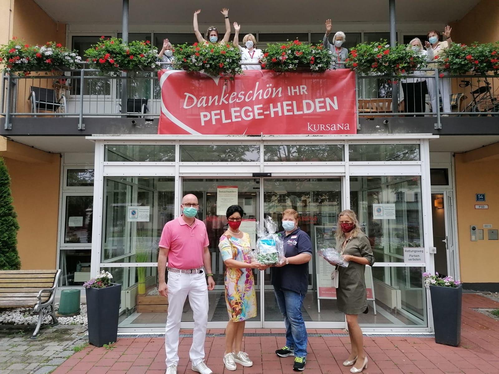 News-Beitrag: 100 Masken für das Pflegeheim
